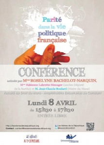 Conférence Parité 8 avril 2013