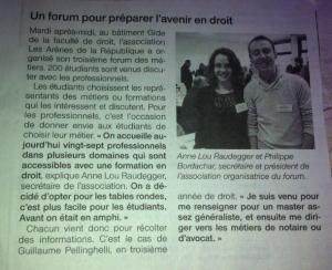 Article Ouest France 20/03/2014 Asso Les Arènes de la République