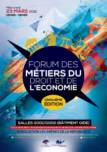 Affiche Forum des Metiers 2016